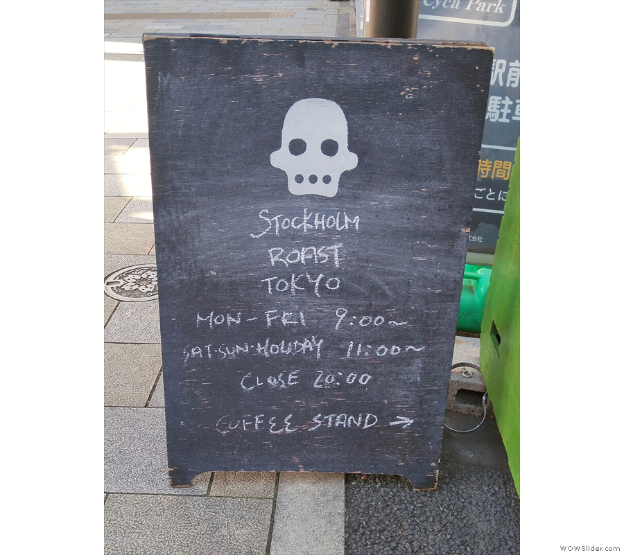 Stockholm Roast has new opening hours by the way.