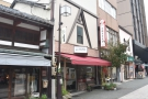 On a quiet, semi-pedestrianised street in Yasuecho, Kanazawa, stands...