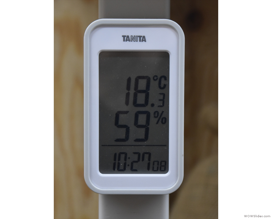 This is temperature- and humidity-controlled to ensure that the green beans stay fresh.