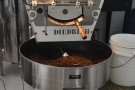 ... which is done in the large cooling pan at the front of the roaster.