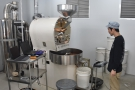 All done. That morning, Kohei was roasting components for the espresso blend, so the...
