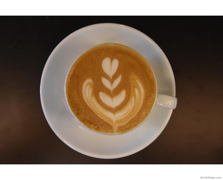 Nice latte art!