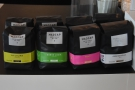 ... including both blends and single-origins (although these were lined up on the counter).