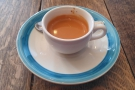 On my first visit, I had the single-origin flight, with an espresso...
