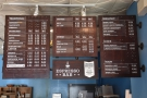 ... with the comprehensive menus hanging above.