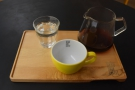 ... while on my return, I had a V60 of a Kenyan single-origin...