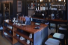 The coffee counter immediately to the right is used in the busy morning period...