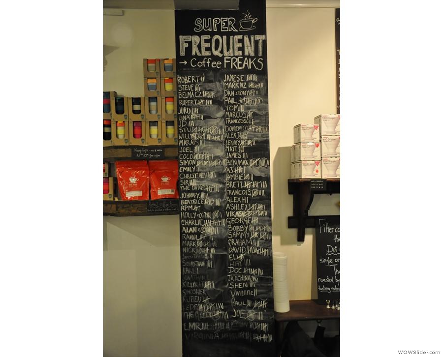 I like the 'Coffee Freaks' list!