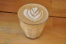 And there we have it. A lovely flat white, made with a single-origin Ethiopian Yirgacheffe.