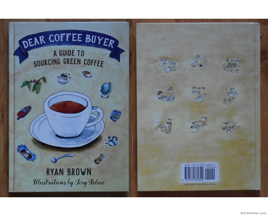 New to me this year, Ryan Brown's Dear Coffee Buyer, which I can't recommend enough.