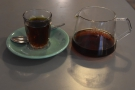 ... which I paired with a V60 of the Finca Santa Isabel from Guatemala...