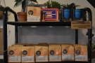 ... where you can pick up the usual selection of coffee kit and retail bags of coffee.