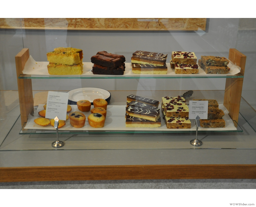 There's also a decent selection of cakes, again from 2014...
