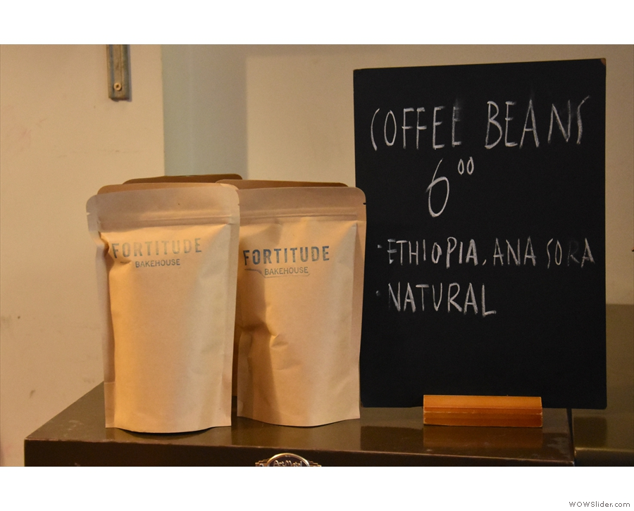 The coffee, by the way, is from Has Bean. During my visit it was this natural Ethiopian.