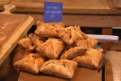It's not all sweet things though. I saaw Goat's Cheese & Red Pepper Pastries...