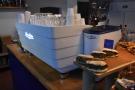 However, there's more: coffee! The Victoria Arduino White Eagle espresso machine...