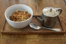 The following morning I was back for breakfast and this lovely granola, which I paired...