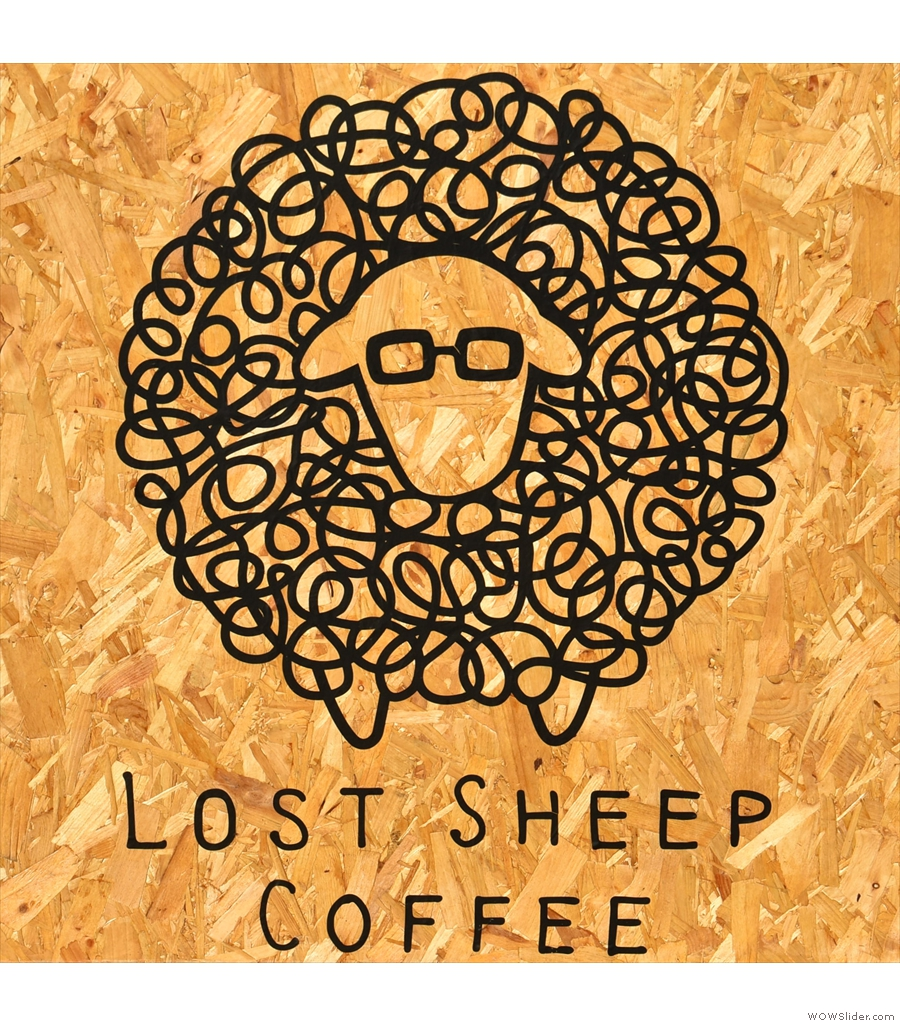 Lost Sheep Coffee, serving take-away coffee from its pod in Canterbury bus station.