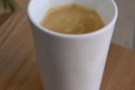 A flat white to go in my Therma Cup from Story Works, opposite Clapham Junction.