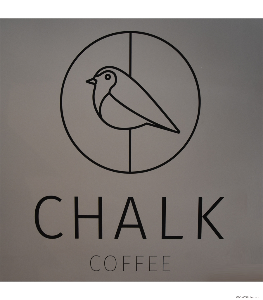 Chalk Coffee, in Chester, technically not a basement, but it certainly feels like one.