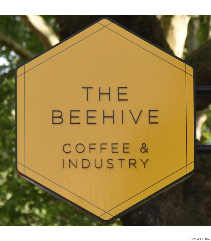 The Beehive in Bethnal Green, with an awesome basement that doubles as a library.
