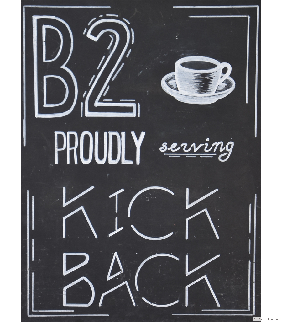 B2 Coffee, which served me a V60 of a smooth, fruity Ethiopian single-origin.