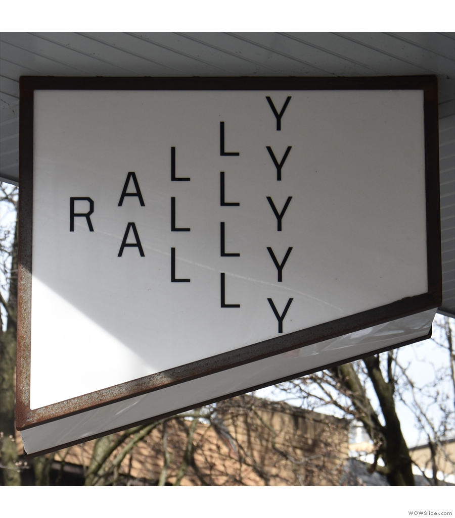 Rally, where I had an outstanding washed Ethiopian Sidamo through the Clever Dripper.