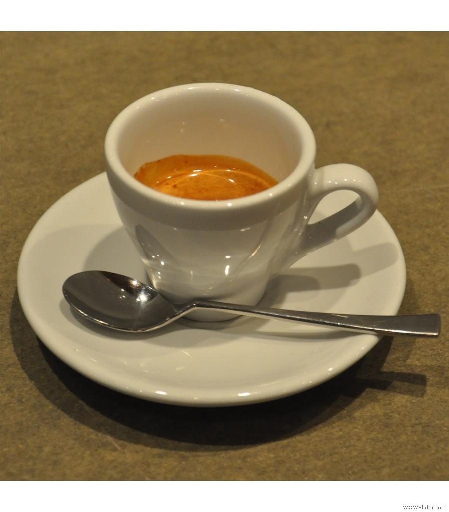 Sentido Speciality Coffee and the sole cafetiere on the shortlist made with a Kenya Nyeri.