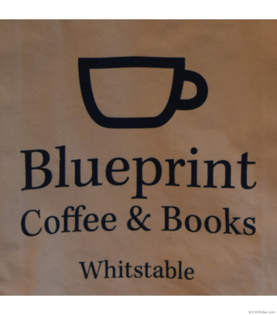 Blueprint Coffee & Books and the Blanca Rosa Melgar from Honduras, roasted by Alchemy.