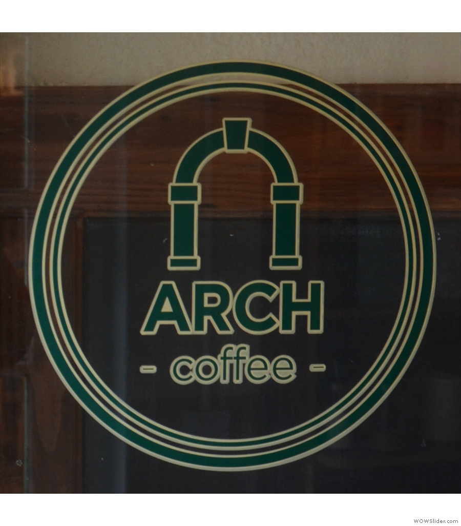 Arch Coffee, Peter's Street: bigger than the original, but still tiny.