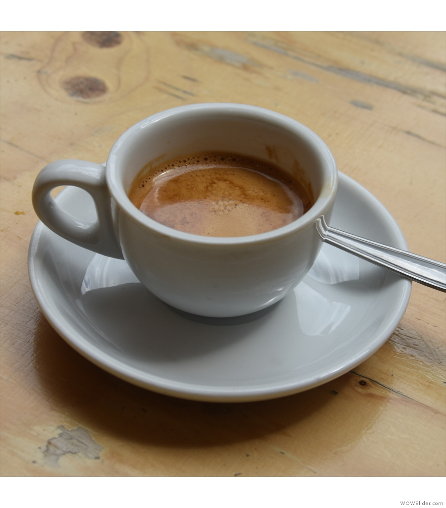 Knockbox Coffee, a veteran of London's speciality coffee scene.