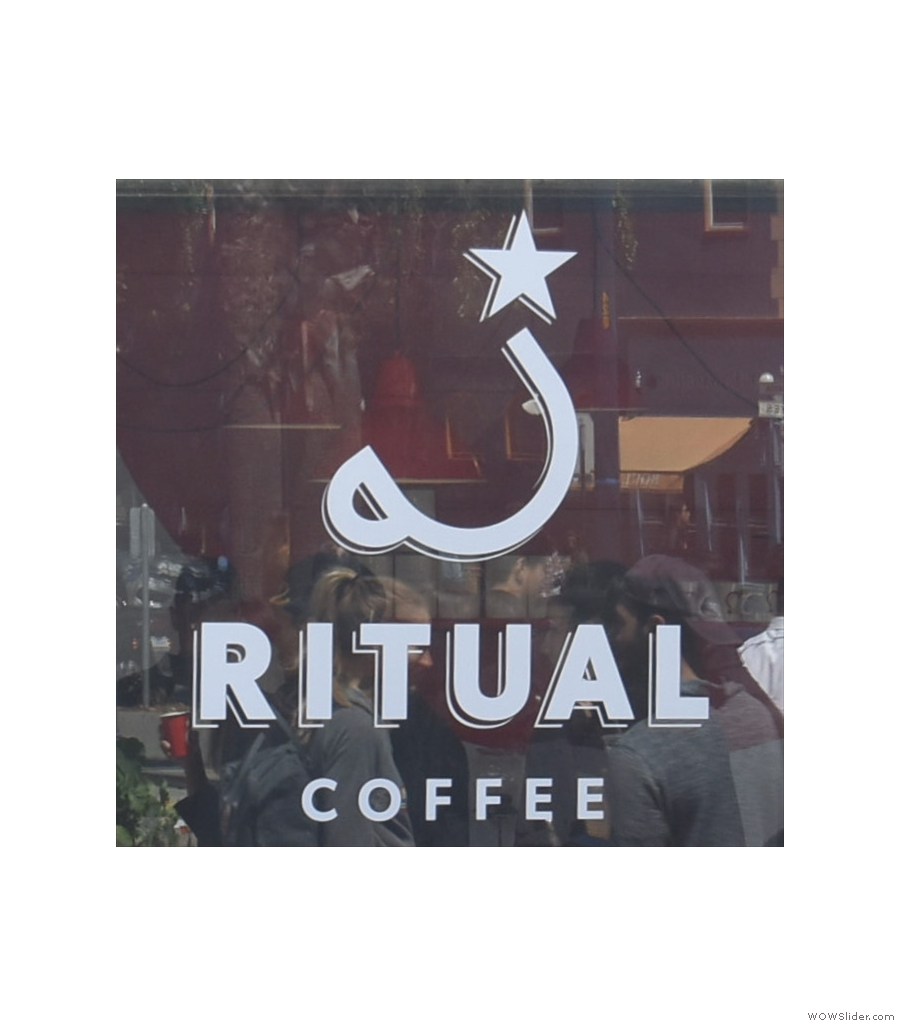 Ritual Coffee Roasters, Hayes Valley, the first of two container-based coffee shops.