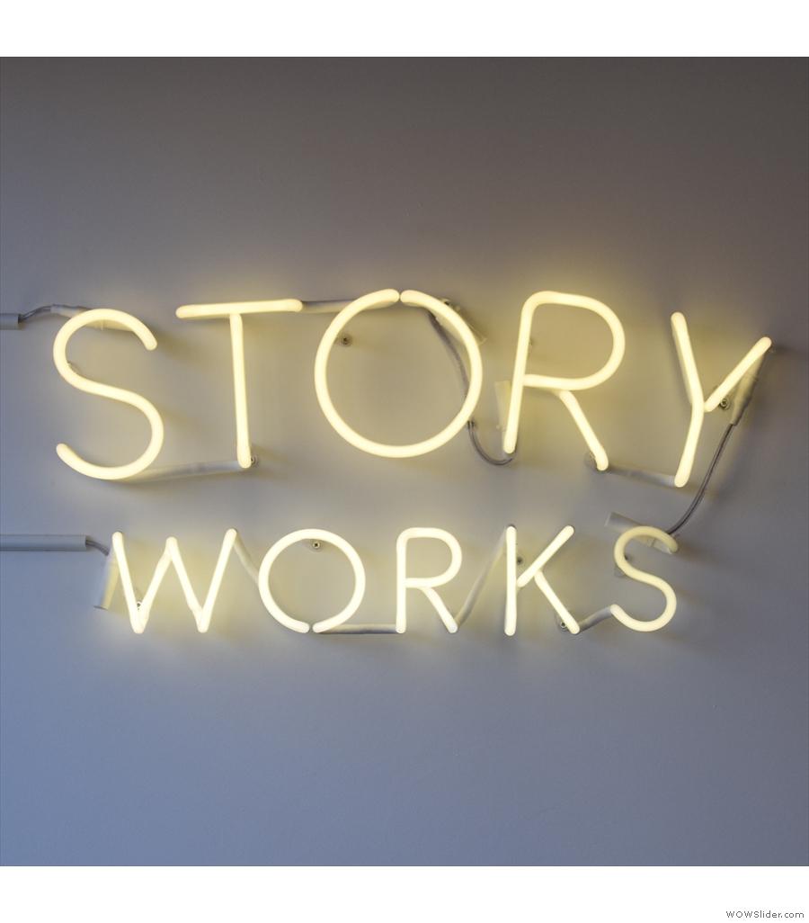 Story Works, a lovely little spot opposite Clapham Junction station.