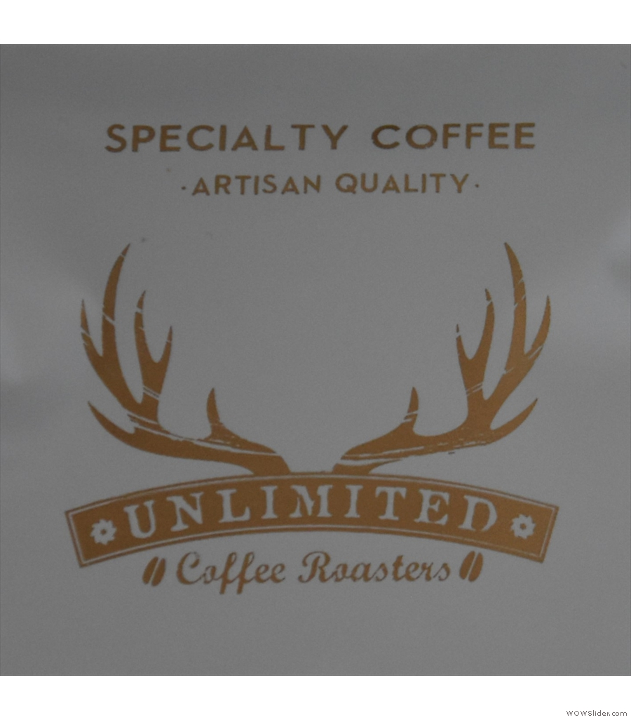 Unlimited Coffee Bar, a masterpiece of fitting lots into a small space.