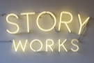Story Works, a lovely little spot opposite Clapham Junction station.