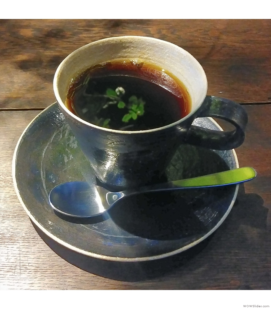 Hirano Coffee in a traditional two-storey Japanese house.
