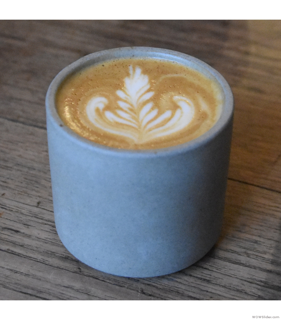 Next is East Coffee Company from Glasgow...