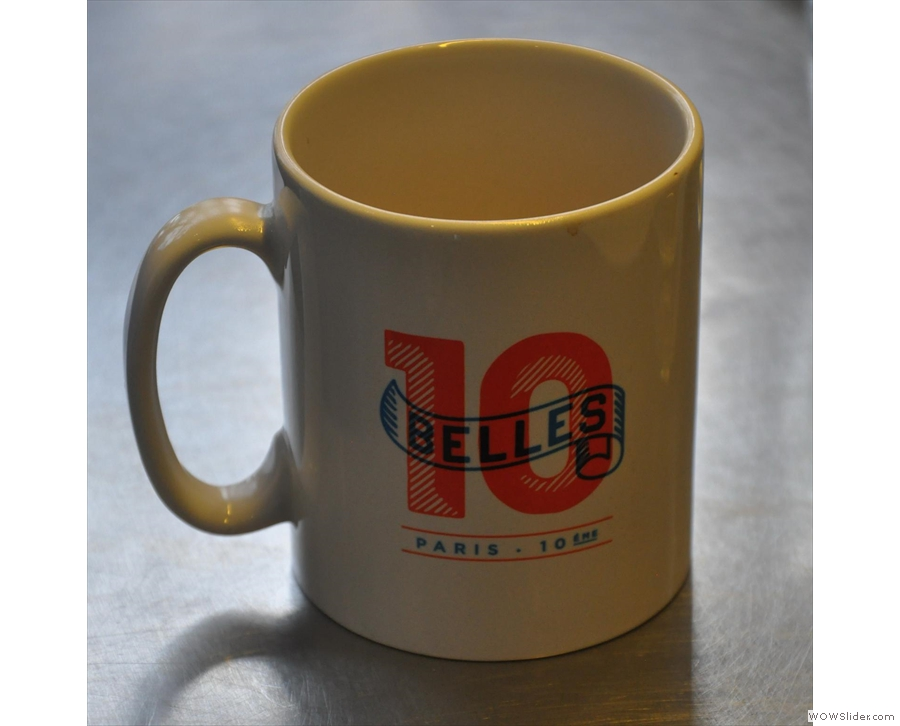 Ten Belles, a lovely coffee shop that could just as easily be in Soho or NYC
