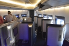 ... where I was unexpectedly upgraded to First Class!
