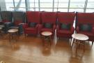 More lounge seating.