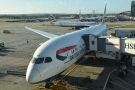 And there, waiting at the gate, is my ride to San Jose, a Boeing 787-900.