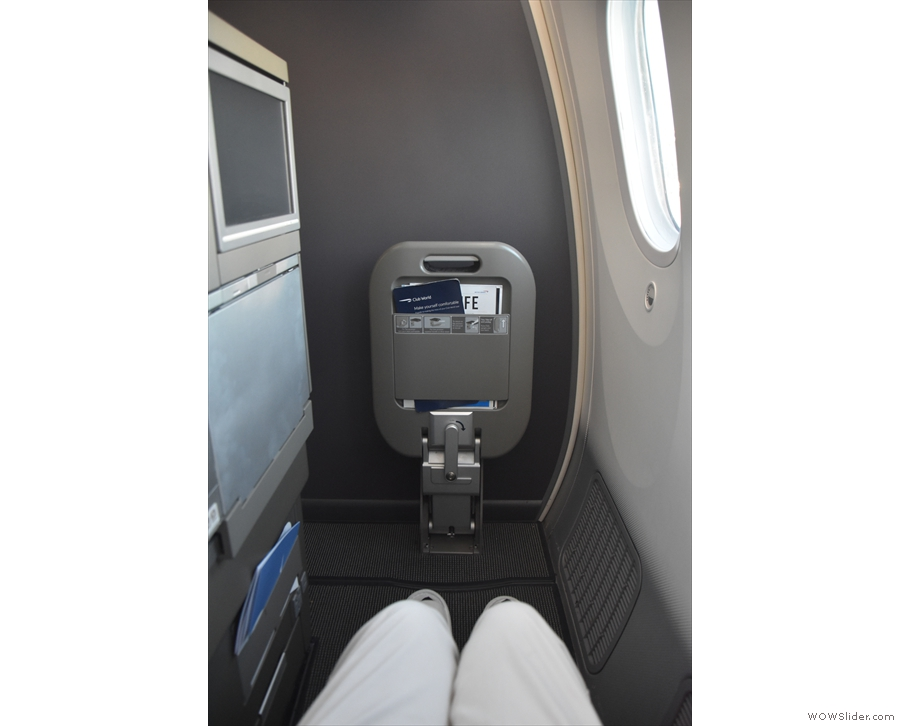However, as soon as I'd settled in, I was moved to Seat 13A, one of my favourite seats!