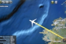 ... and out over the Atlantic Ocean.