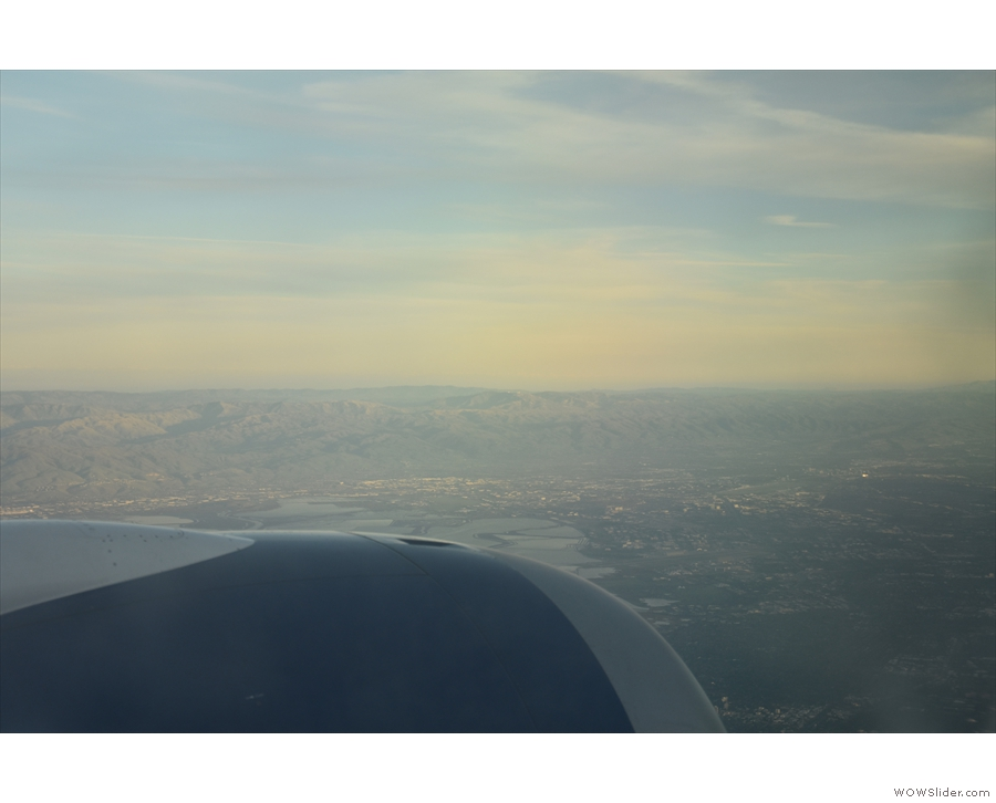 ... with San Jose in the distance.