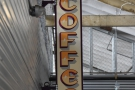 ... where the Chromatic Coffee sign marks the spot.