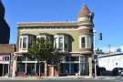On Broadway, in downtown Oakland, stands this interesting building, complete with turret.