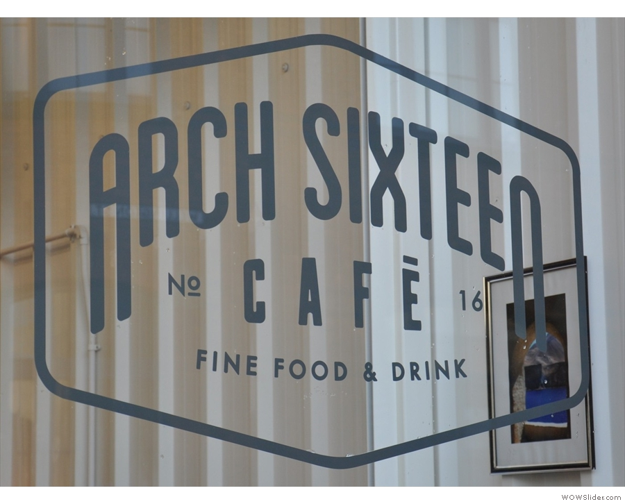 Gateshead's very own Arch Sixteen Cafe
