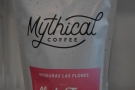 ... which includes retail bags of Mythical Coffee.