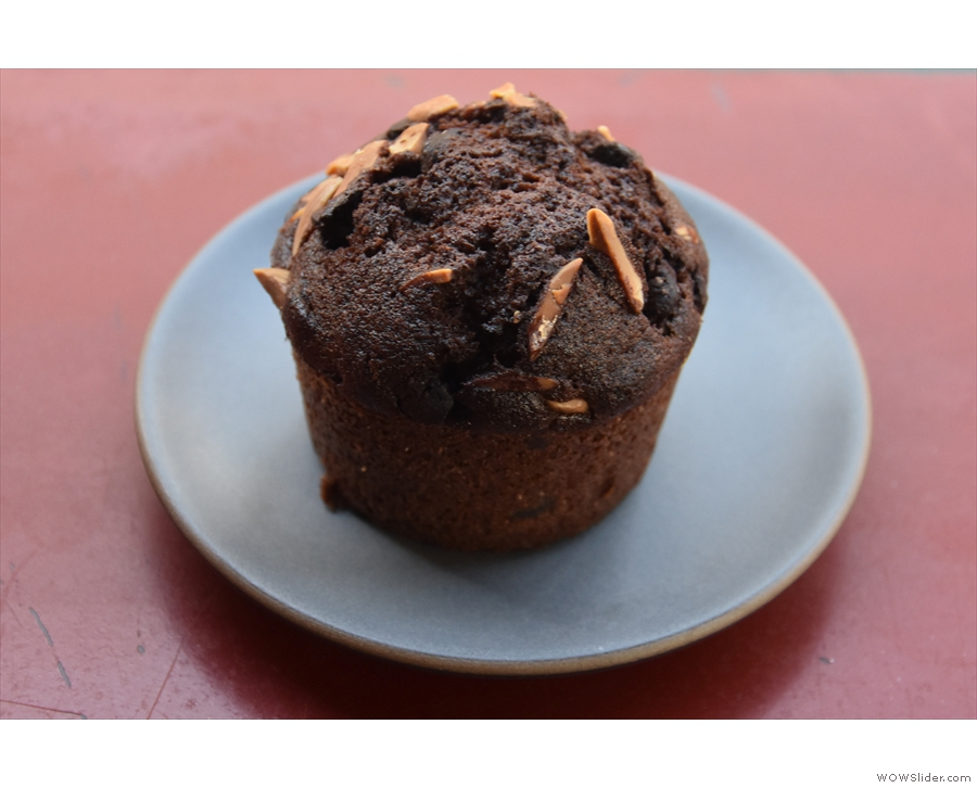 I'll leave you with my buckwheat financier, which I had with my espresso.