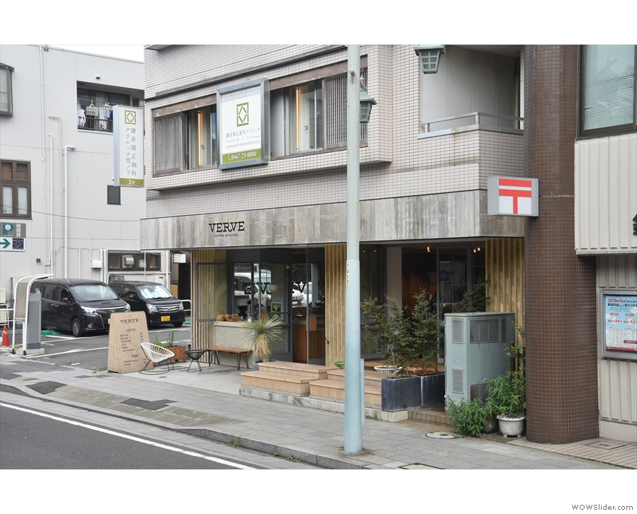 ... Verve Coffee Roasters, its second Japanese location after Shinjuku in Tokyo.